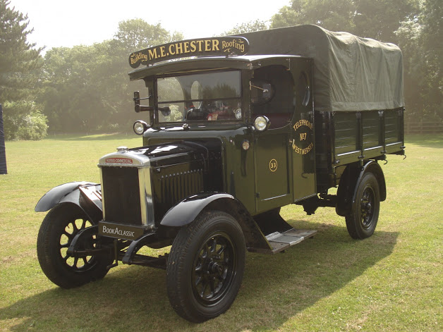 Morris I ton pick up hire for weddings and events